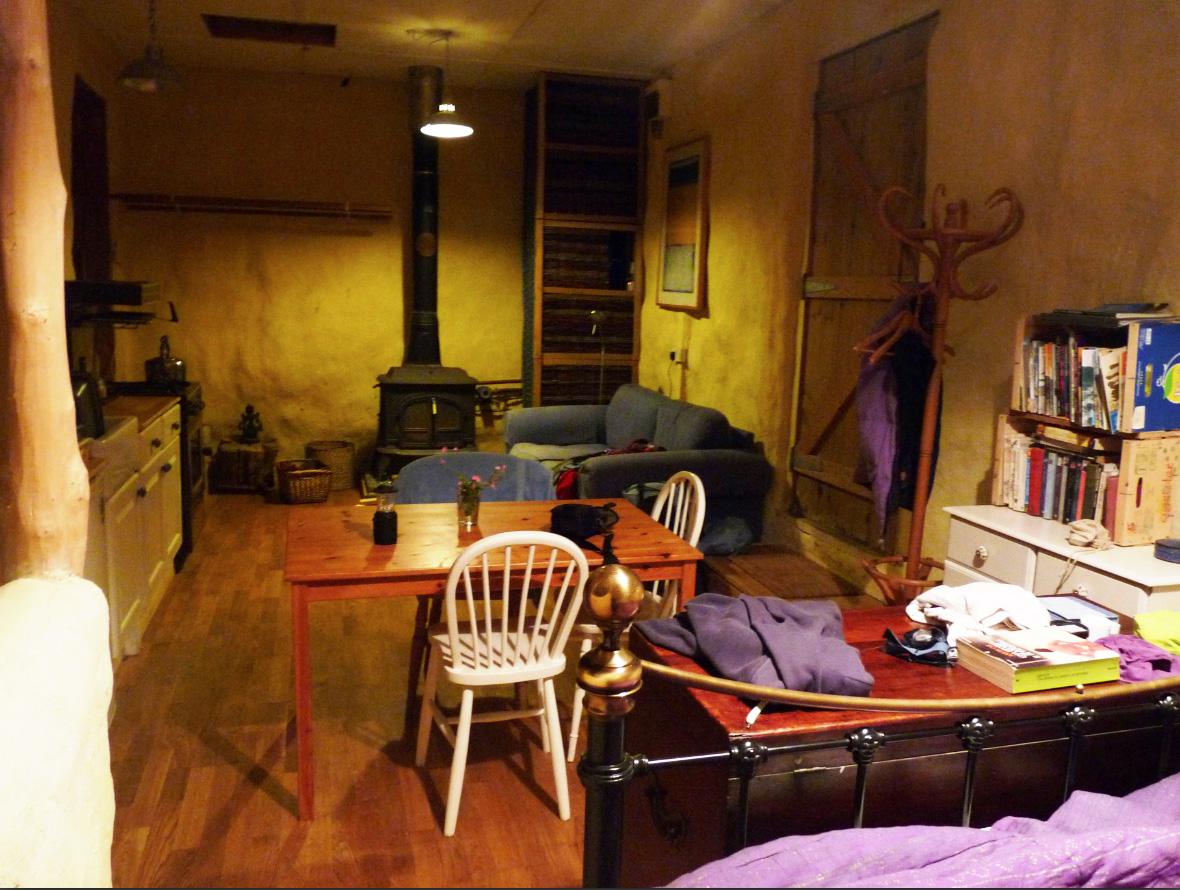Case di paglia la casa di paglia e l 39 albicocco - Casa di paglia ...